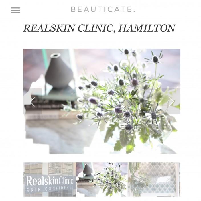 realskin clinic beauticate GO-TOs